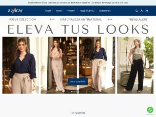 Captura de pantalla para azucarcolombia.com