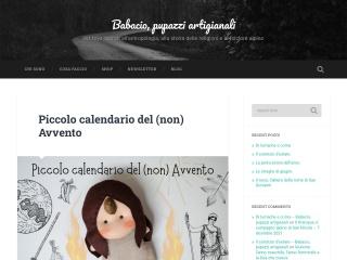 Screenshot del sito babacio.it