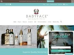 Baby Face Promo Codes 2018