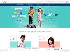 Online store BabyOye