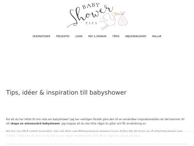 babyshowertips.se