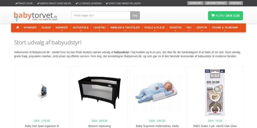 http://www.babytorvet.dk/shop/frontpage.html
