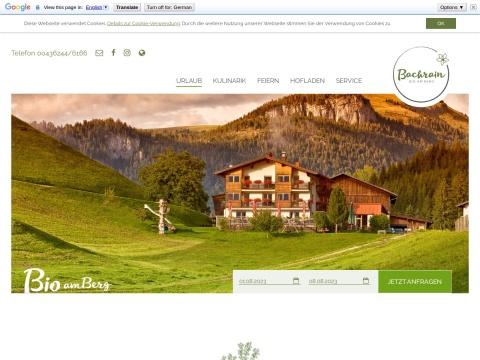 Berghof Bachrain