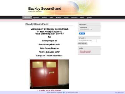 www.backbysecondhand.n.nu