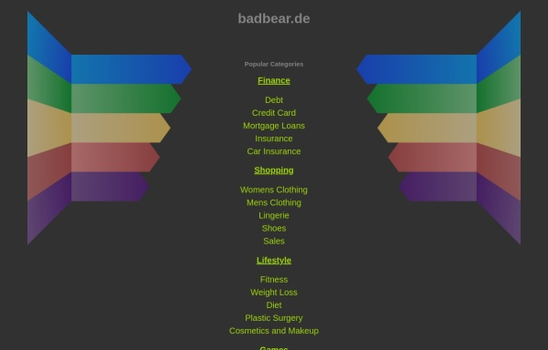 Vorschau von www.badbear.de, badbear.de - Bad Taste Bears