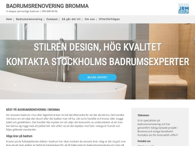 www.badrumsrenoveringbromma.nu