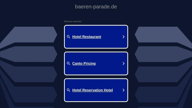 www.baeren-parade.de Vorschau, Carmen's Bären-Parade