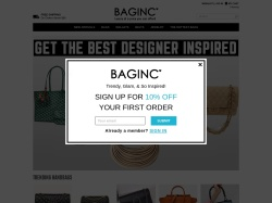 Bag Inc Coupons & Offers