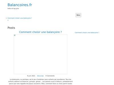 Balancoires.fr - Le spécialiste des balançoires
