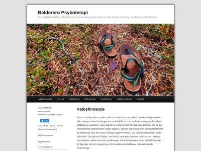 baldersropsykoterapi.se
