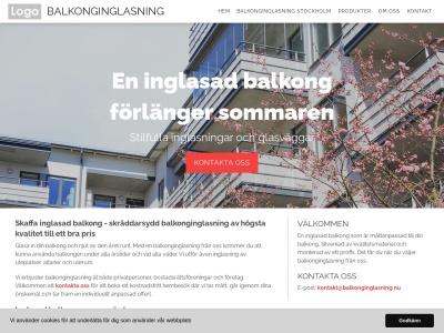 www.balkonginglasning.nu