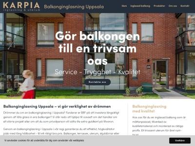 www.balkonginglasninguppsala.se