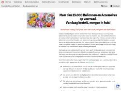 Ballonartikelen.nl screenshot