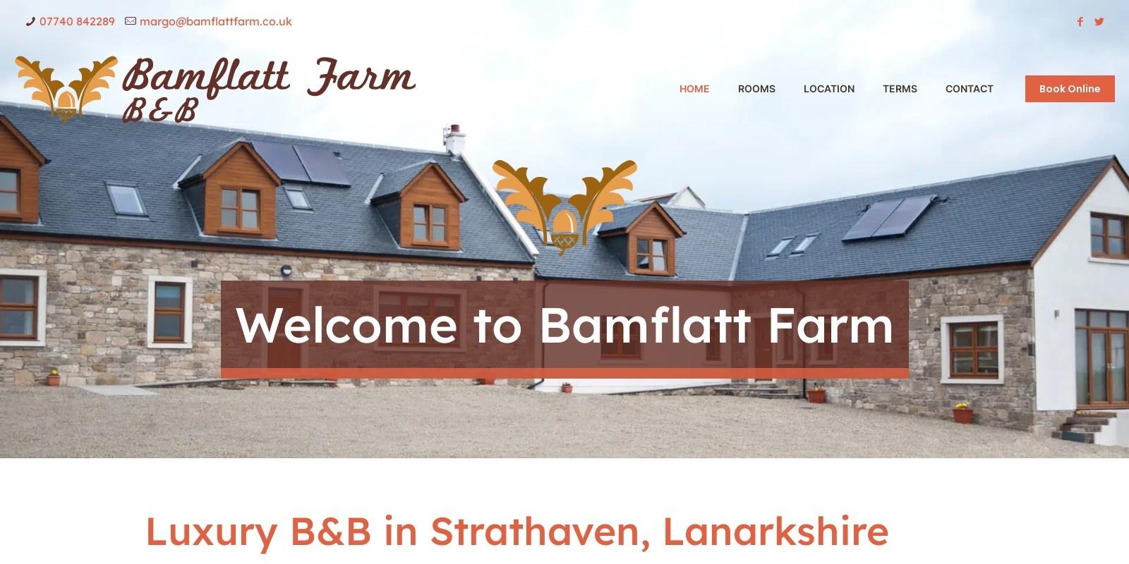 Preview of http://www.bamflattfarm.co.uk