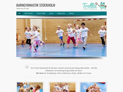 www.barngymnastikstockholm.se