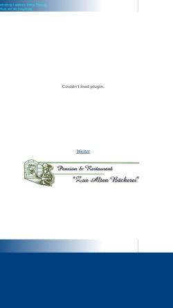 Vorschau der mobilen Webseite www.baruthmark.de, Baruth / Mark - Torsten Ziller