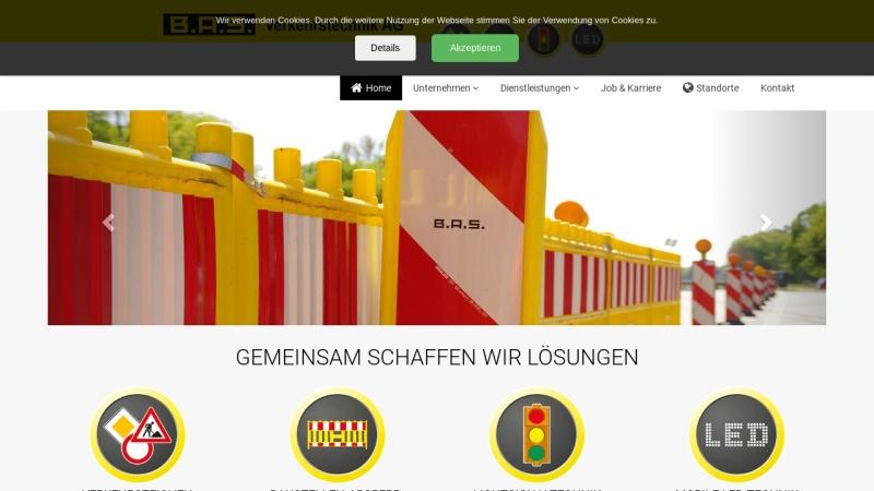 www.bas-verkehr.de Vorschau, B.A.S. Verkehrstechnik AG