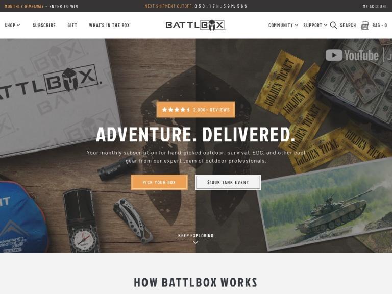 Battlbox screenshot