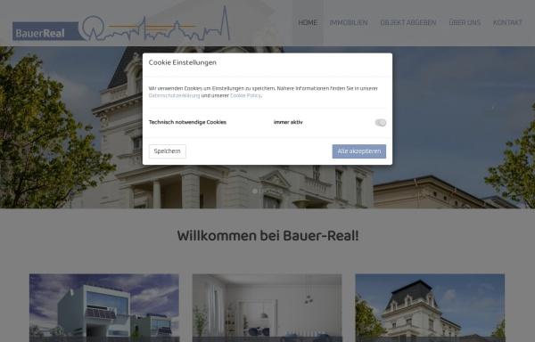 Vorschau von www.bauer-real.at, Bauer Johanna