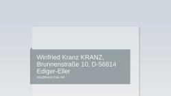 www.bauunternehmung-kranz.de Vorschau, Kranz Bauunternehmung