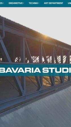 Vorschau der mobilen Webseite www.bavaria-production-services.de, Bavaria Production Services GmbH