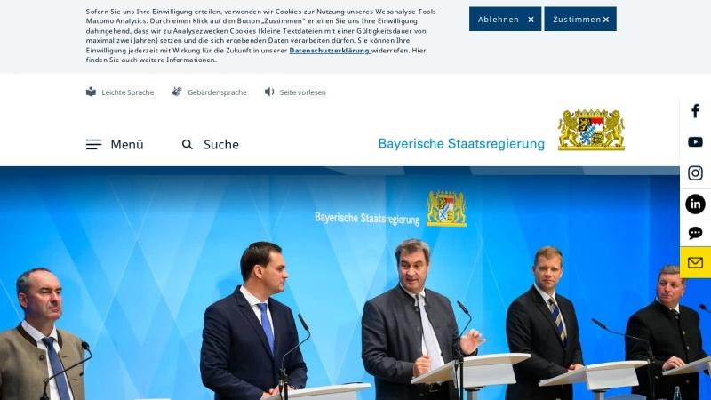www.bayern.de Vorschau, Bayrische Staatskanzlei