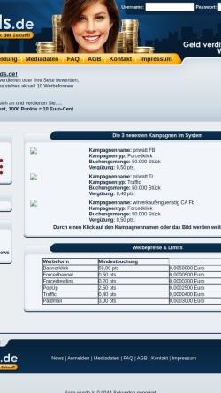Vorschau der mobilen Webseite www.baylink.de, Baylink.de
