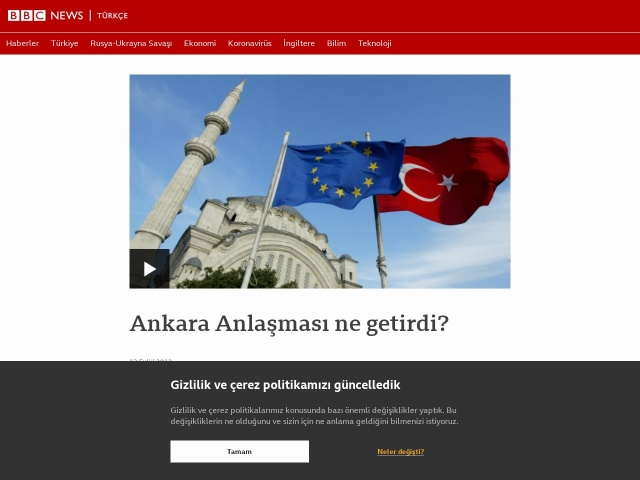 BBC: Ankara Anlaşması ne getirdi?
