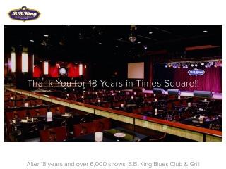 Screenshot for bbkingblues.com