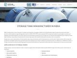 Storage tank manufacturer in India