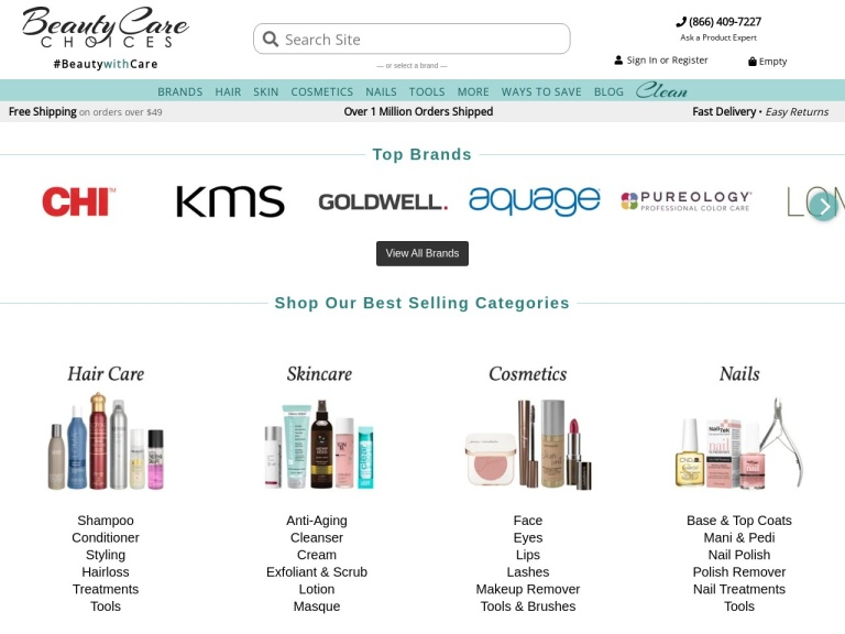 Beauty Care Choices Coupon Codes