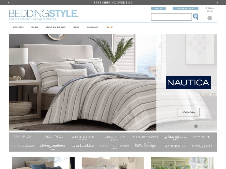 Beddingstyle.com screenshot