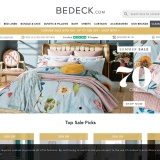 Up to 70% off at Bedeck Home
