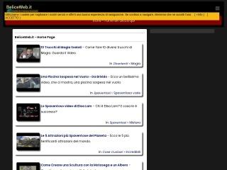 screenshot beliceweb.it