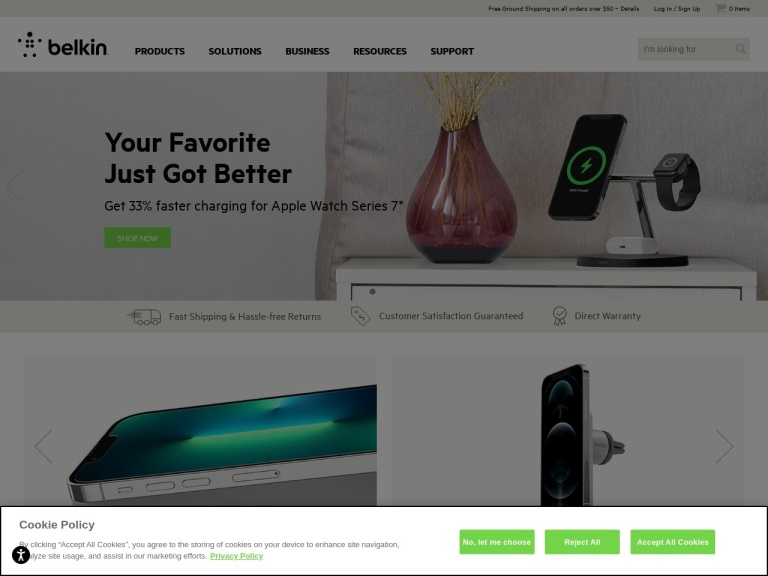 Belkin Official Store (USA) screenshot
