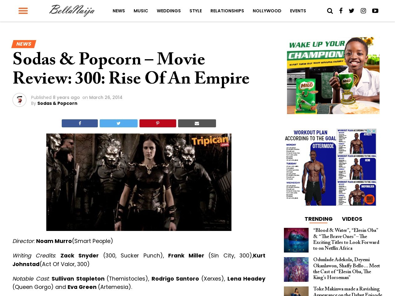Sodas & Popcorn – Movie Review: 300: Rise Of An Empire | Bella …