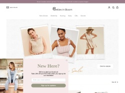 Belliesinbloommaternity coupon codes January 2018