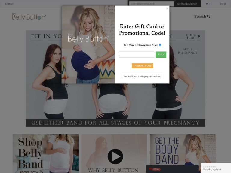 Belly Button Band Coupon Codes