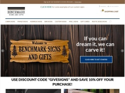 Benchmarksignsandgifts coupon codes December 2017