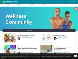 screenshot benessere360.com