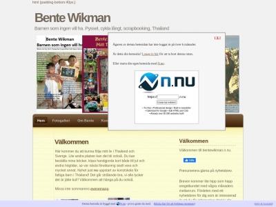 www.bentewikman.n.nu