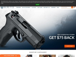 Beretta USA screenshot