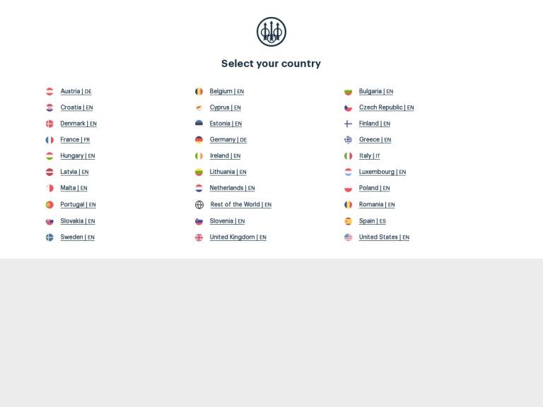 Beretta USA screenshot