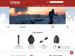 Berg's Ski and Snowboard Shop screenshot