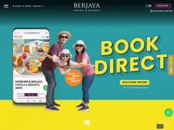 Berjaya Hotels and Resorts screenshot