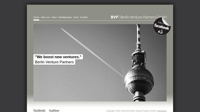 www.berlin-venture-partners.com Vorschau, BVP Berlin Venture Partners - Internetinvestor in Berlin