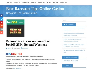 Screenshot for best-baccarat.tips