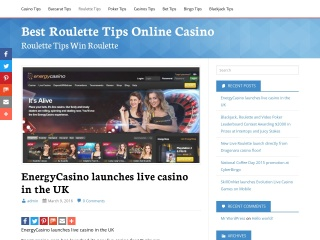 Screenshot for best-roulette.tips