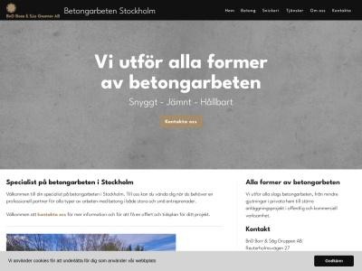 www.betongarbetenstockholm.nu