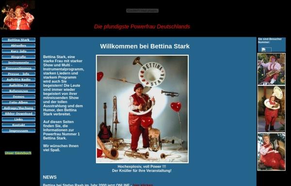 Vorschau von www.bettina-stark-entertainment.de, Stark, Bettina